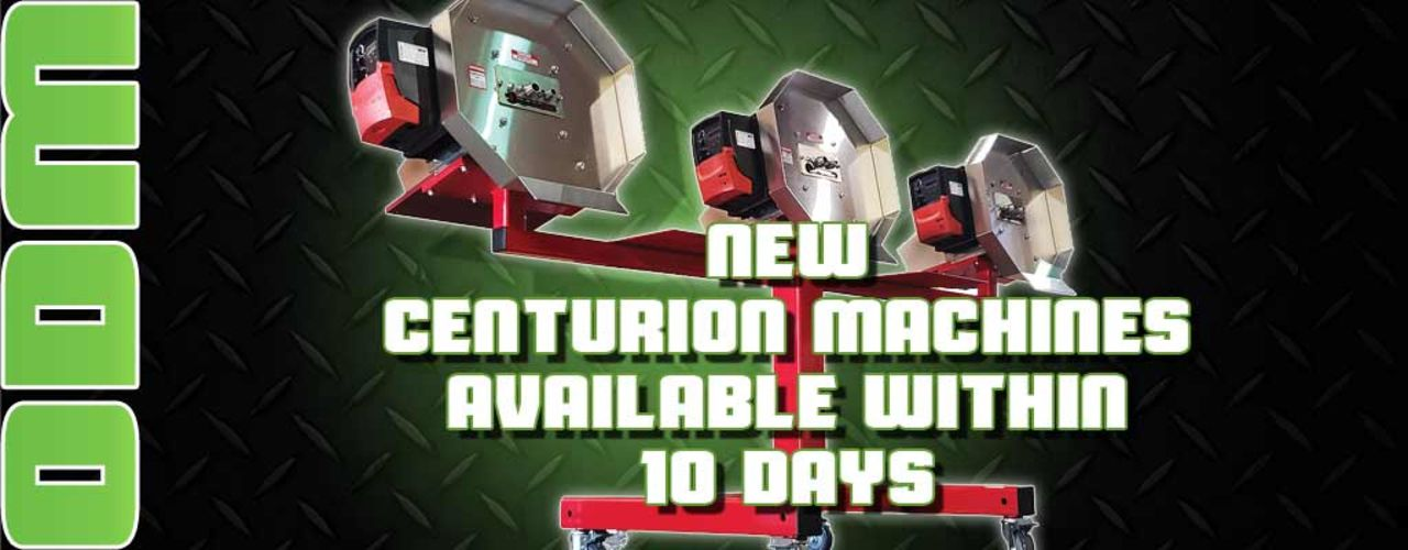 all new centurionpro products available within 10 days!